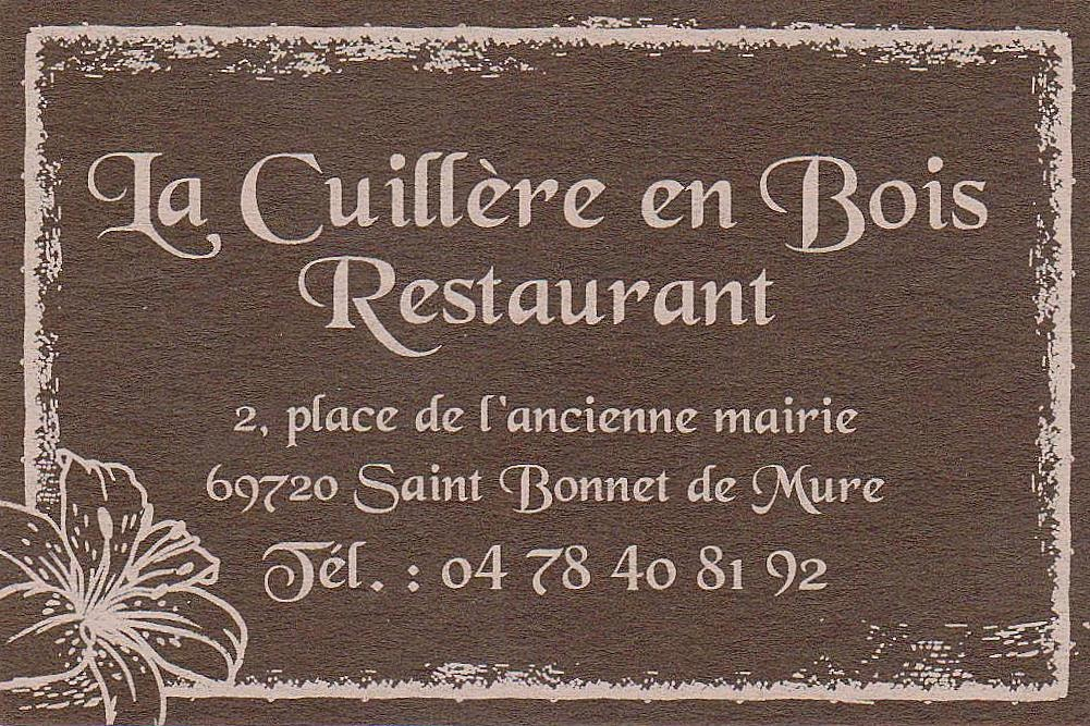 the traveler 39 s drawer la cuill re en bois restaurant saint bonnet de mure rh ne france. Black Bedroom Furniture Sets. Home Design Ideas