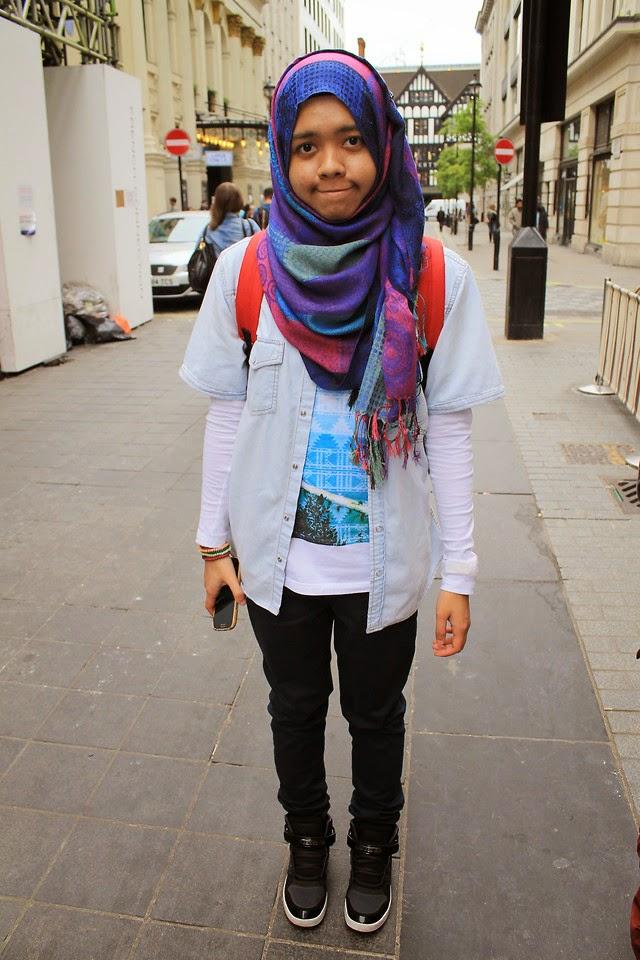 A N H 10 Style Hijab Untuk Cewe Tomboy