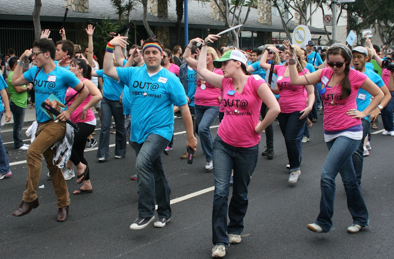 Out NBC Universal LA Pride Parade
