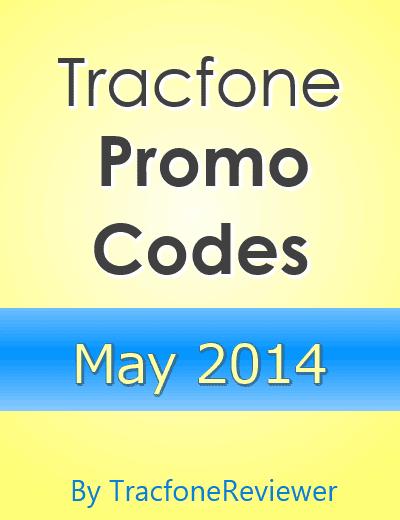 Tracfone promo codes may 2014