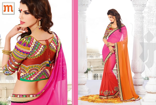 Choosing Wedding Sarees at Moksha Fashions