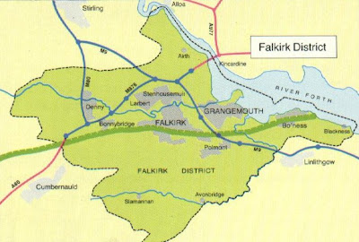 Map of Falkirk Province Area