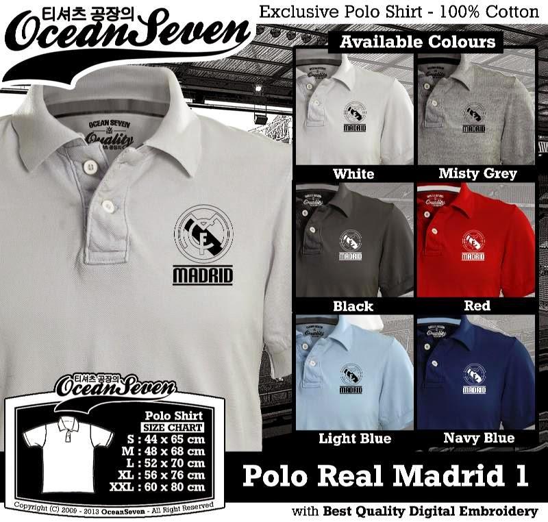 Kaos Polo Real Madrid 1
