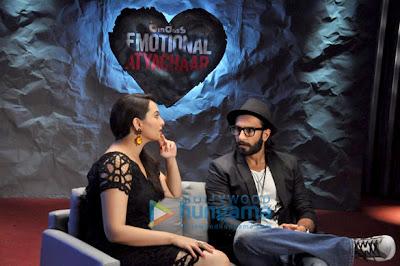 Promotion of 'Lootera' on the sets of UTV Bindass Emotional Atyachaar