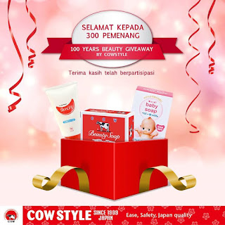 Pengumuman Pemenang COWSTYLE Beauty Experience Periode 2