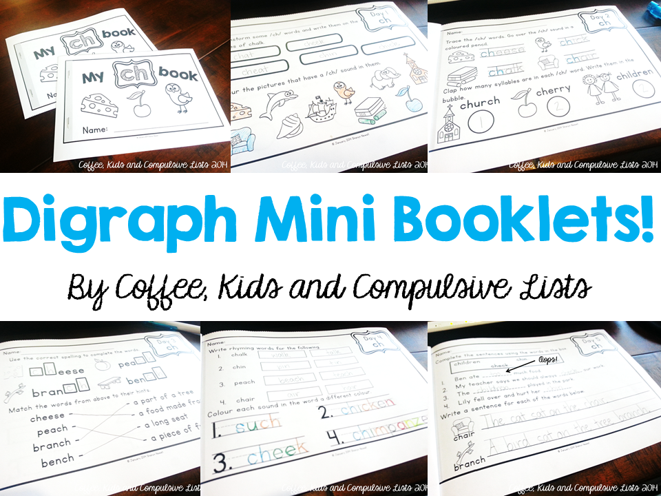 http://www.teacherspayteachers.com/Product/Digraph-Mini-Booklets-5-Days-of-Short-Activities-1066757