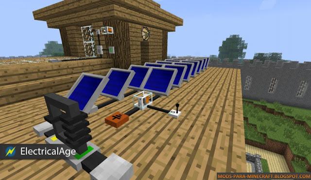 Imagen 5 del Electrical Age Mod para Minecraft 1.7.2/1.7.10