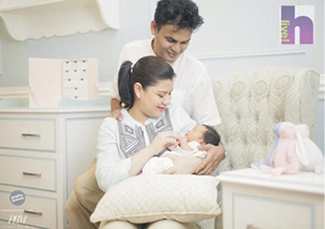 EKSKLUSIF... Gambar Pertama Anak Lisa Surihani Dan Yusri Didedahkan!