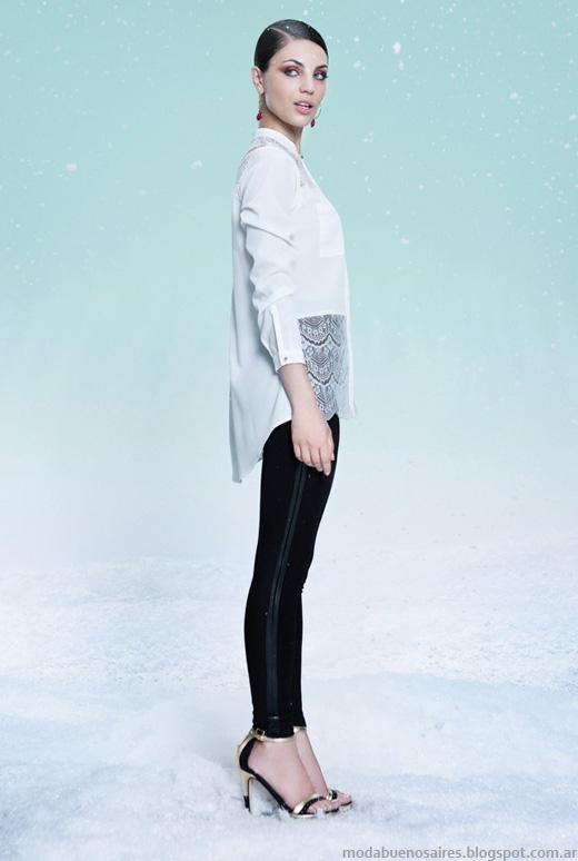 Las Oreiro otoño invierno 2014 ropa de mujer.