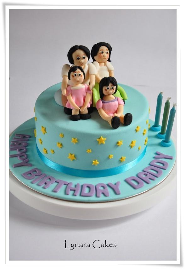 Lynara Cakes Cake for Daddy birthday