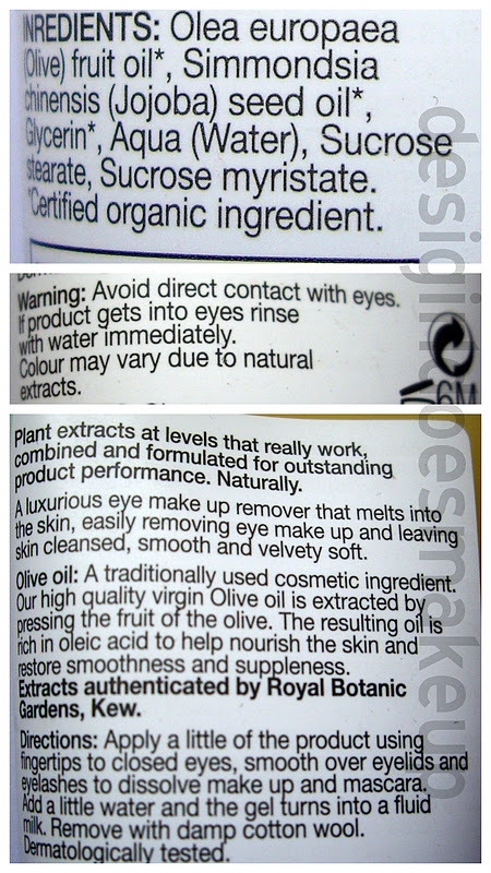 makeup remover organic eye v eye remover  makeup best eye botanics natural nourishing face boots makeup review