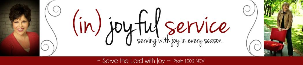 (in) joyful service