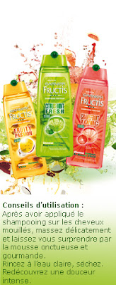 100 shampooings Fructis Fruit Extension