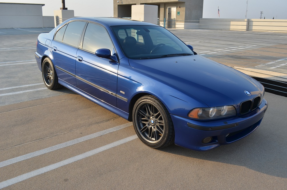 Daily Turismo: 15k: Blue Angel: 2001 BMW M5, E39 6-spd Supercharged ...