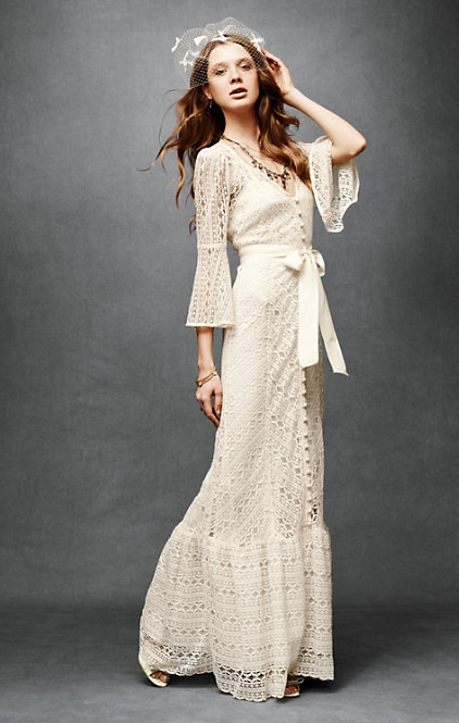 but I really love this boho wedding gown from Anthropologie 39s freshly