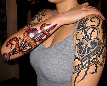 Fotos tatuagem de cobra no braço