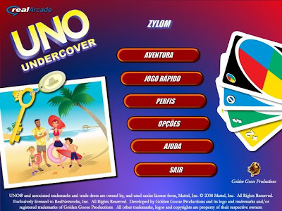 UNO Undercover PC Capa