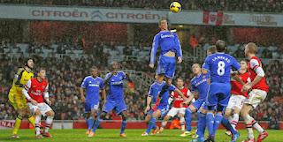 Review: Arsenal vs Chelsea, Derby London Imbang Tanpa Gol