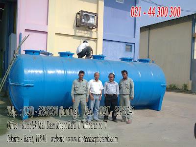 septic tank biotech modern dan baik, stp, ipal, toilet portable fibreglass, flexible toilet