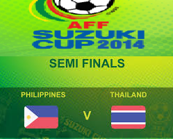 Filipina Vs Thailand Piala AFF Suzuki 2014 Semis