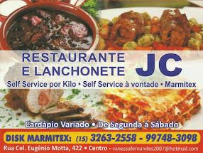 JC RESTAURANTE E LANCHONETE Self-Service por Kilo, Self-Service à Vontade e Marmitex