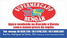 SUPERMERCADO BENOAR EM VARJOTA