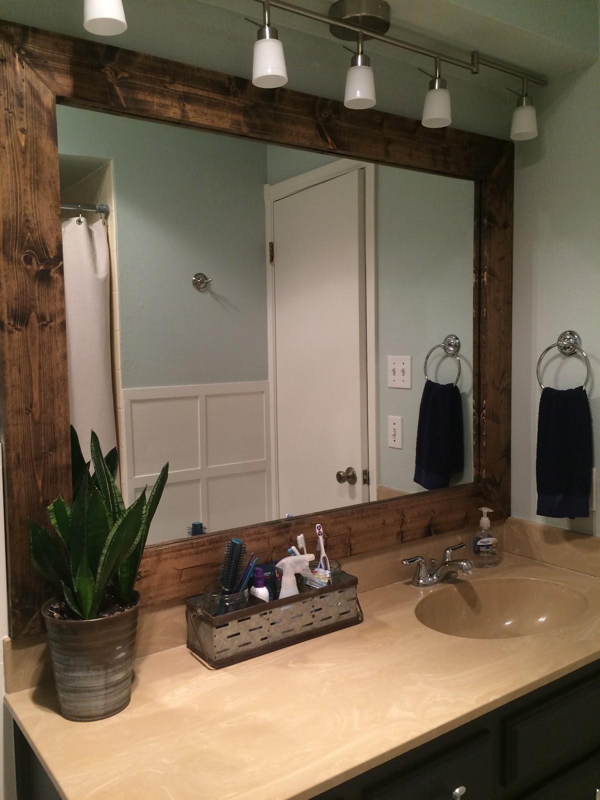 Bathroom Makeover e Room Challenge Reveal frazzled JOY