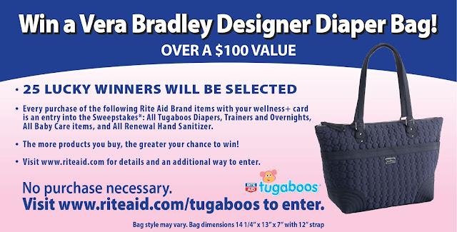 Rite Aid Tugaboo Vera Bradley Diaper Bag Sweepstakes