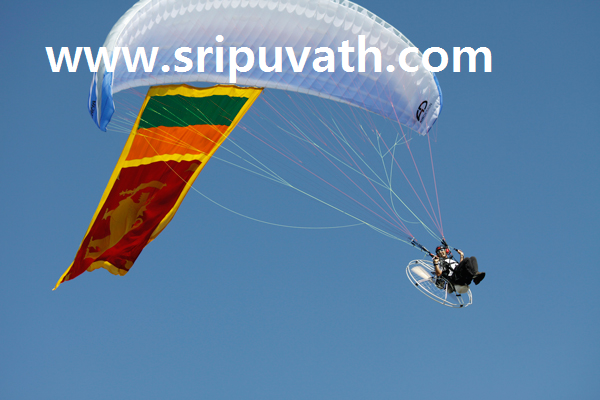 Sri Lanka's first 'aviation sports zone' of skydiving