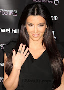 Kim Kardashian ring is going to be the second point of intrest for Kim .