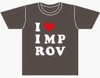 我愛即興劇T-Shirt<br>白灰粉黑4色 熱賣中!