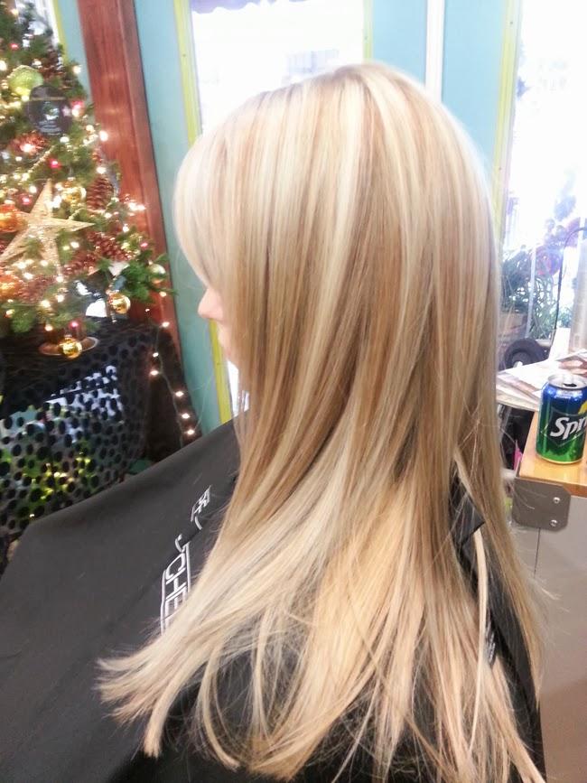 Platinum Blonde Hair With Lowlights Color: platinum blonde + cool