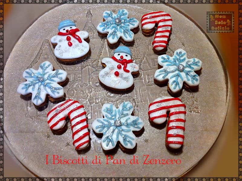 i biscotti di pan di zenzero per babbo natale