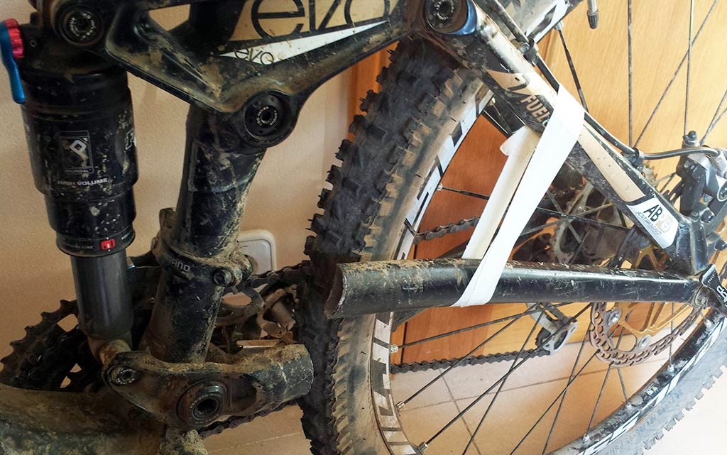 Trek Fuel EX rotura cuadro