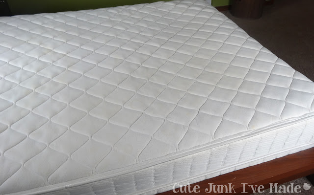 Spring Cleaning:  The Bedrooms - Clean Naked Mattress