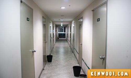 namsan guest house hallway