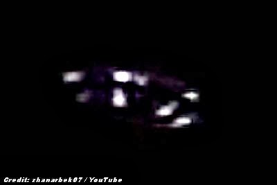 UFO Video-Taped Over Almaty (Crpd) 10-20-13