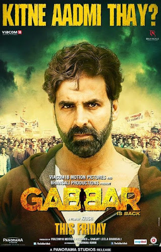 Gabbar is Back (2015) Movie Poster No. 3