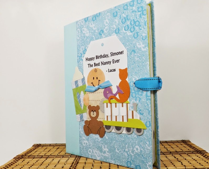 fairy cardmaker baby boy scrapbook mini album 2015