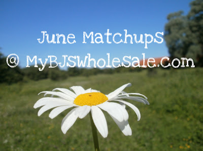 BJ's Member Savings Coupon Matchups - June 2012