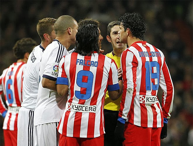 Atletico Madrid vs Real Madrid Skor 2 2 Hasil Liga Spanyol Tadi Malam