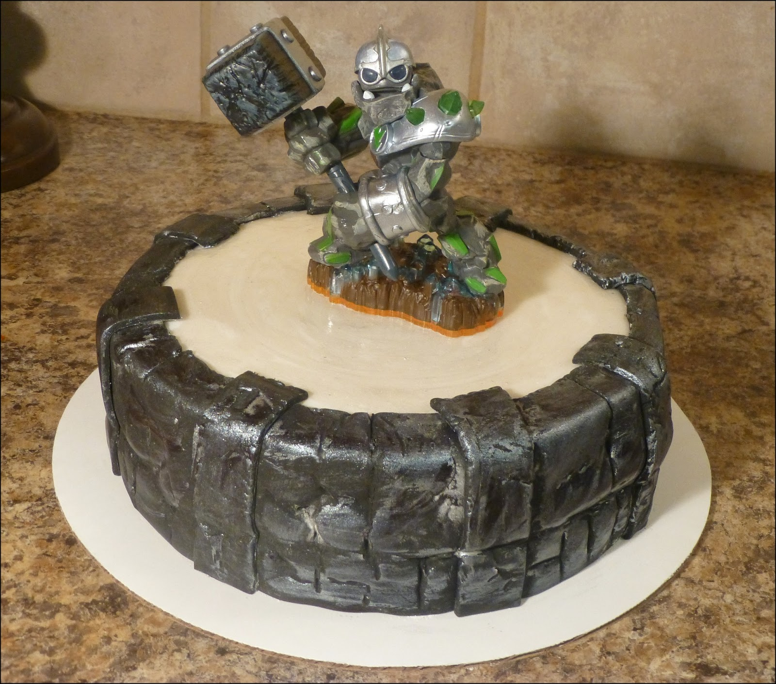 Crazy About Cakes Skylanders Portal Of Power Cake