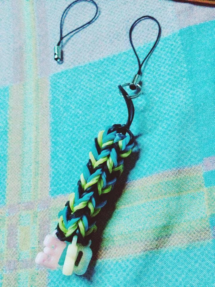 Rainbow Loom Key chain