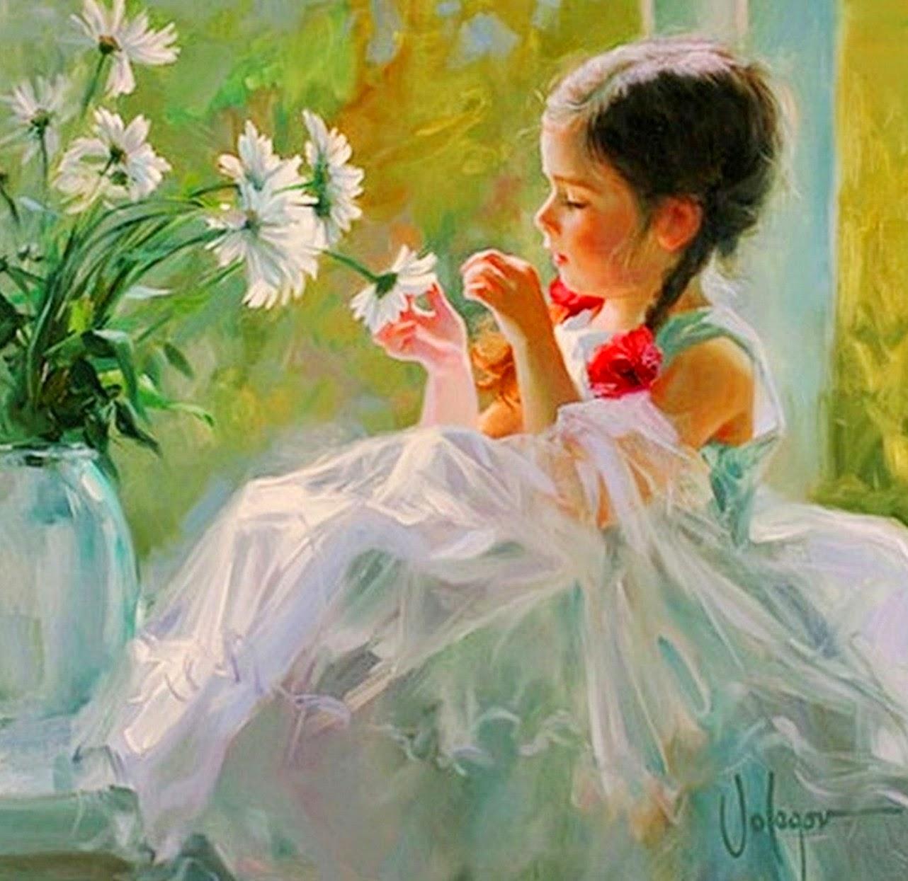 retrato-infantil-con-flores-blancas