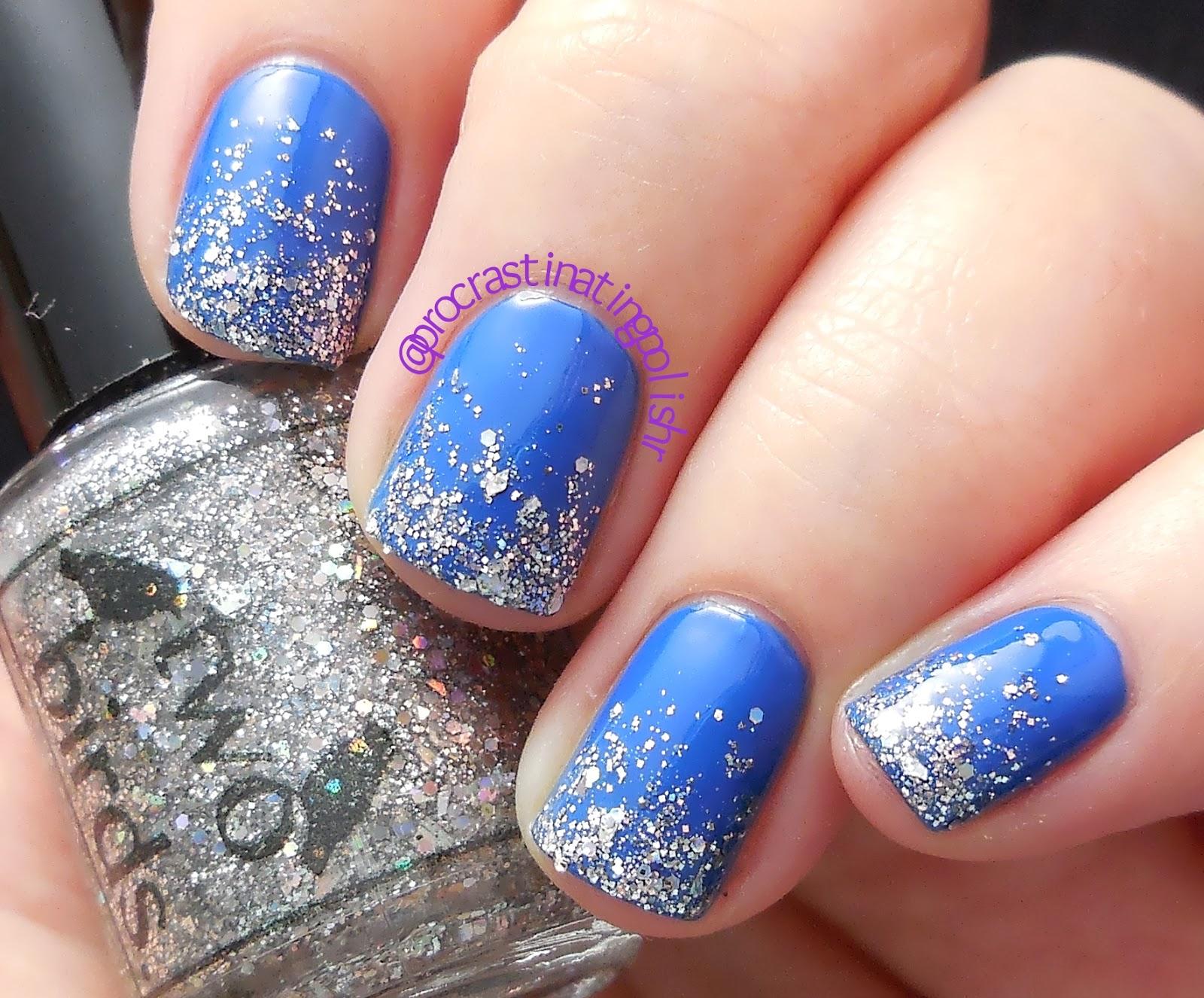 Celestial Cosmetics - Monocerous + Two Birds Lacquer - silver glitter
