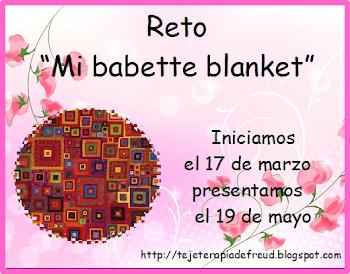 "Reto ""Mi Babette Blanket"