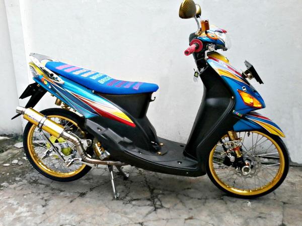 contoh Variasi Motor Mio Thailook
