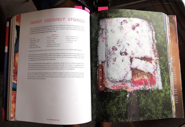 Jamie Oliver - Jammy Coconut Sponge