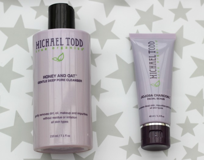 Michael Todd honey and oat cleanser