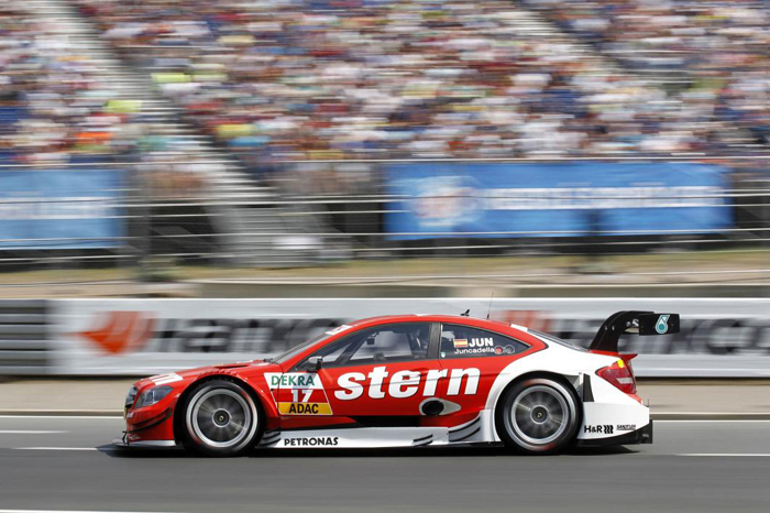 DTM 2013 en Norisring - Equipo Mercedes